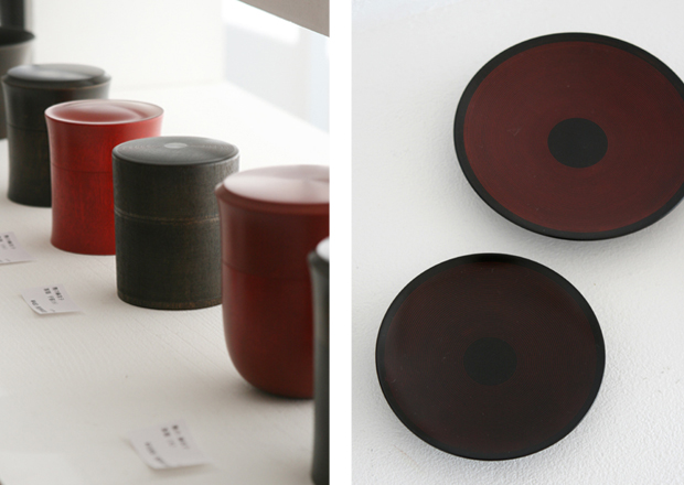 Photographs of Maiko Okuno's Lacquerware Exhibition 1