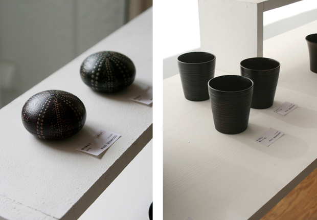 Photographs of Maiko Okuno's Lacquerware Exhibition 5