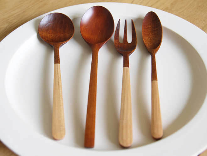Handmade Utensils by Taisuke Hirabayashi at OEN Shop 1