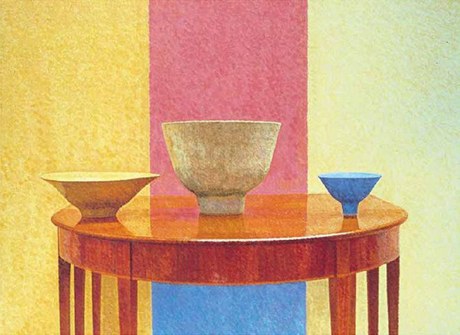 Still-Life-Paintings-of-Ceramics-by-William-Wilkins-8