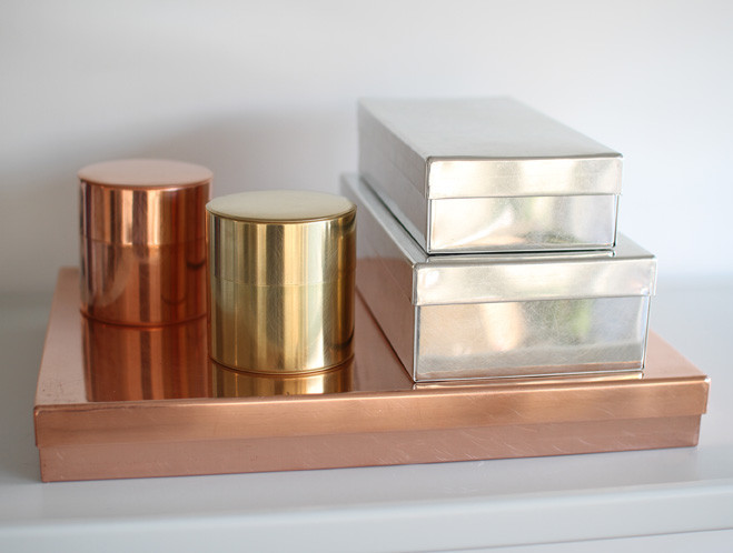 Shaped by Hand in Taito, Tokyo - Copper, Brass & Tin Cans by SyuRo at OEN shop-1