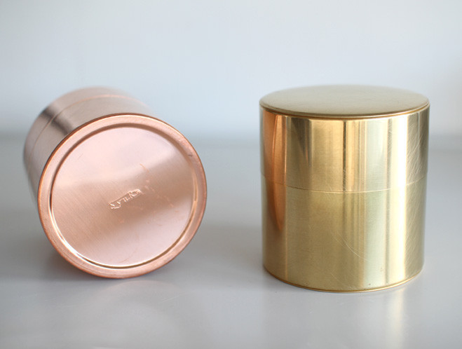 Shaped by Hand in Taito, Tokyo - Copper, Brass & Tin Cans by SyuRo at OEN shop-7