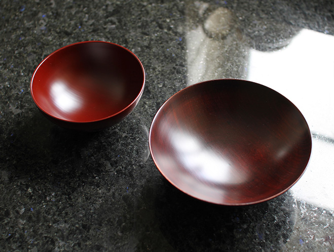 Beautifully Crafted Bowls by Fujii Works at OEN Shop 1