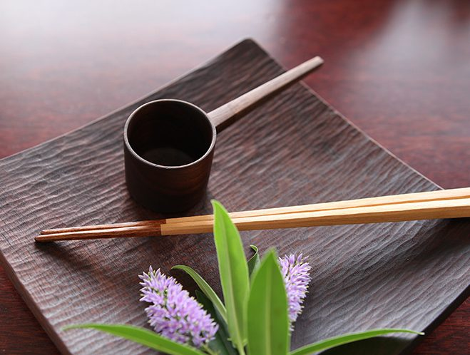 New at OEN Shop - Dish, Coffee Measure & Chopsticks from Atelier tree song 1
