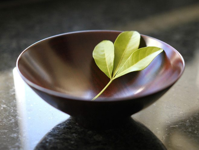 Natural Textures & Colours Lacquerware by Fujii Works at OEN Shop 1