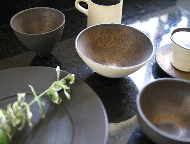 Pottery for a Modern Lifestyle - New Works at OEN Shop by Shinobu Hashimoto 1