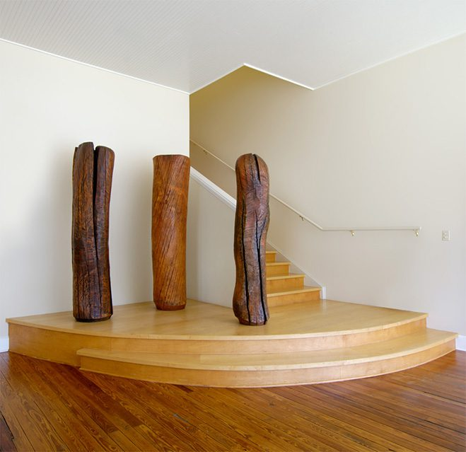 Ichiboku-&-Totemic-Series---Wooden-Sculptures-by-Mark-Lindquist-1