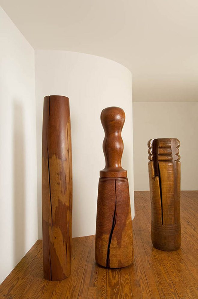 Ichiboku-&-Totemic-Series---Wooden-Sculptures-by-Mark-Lindquist-8