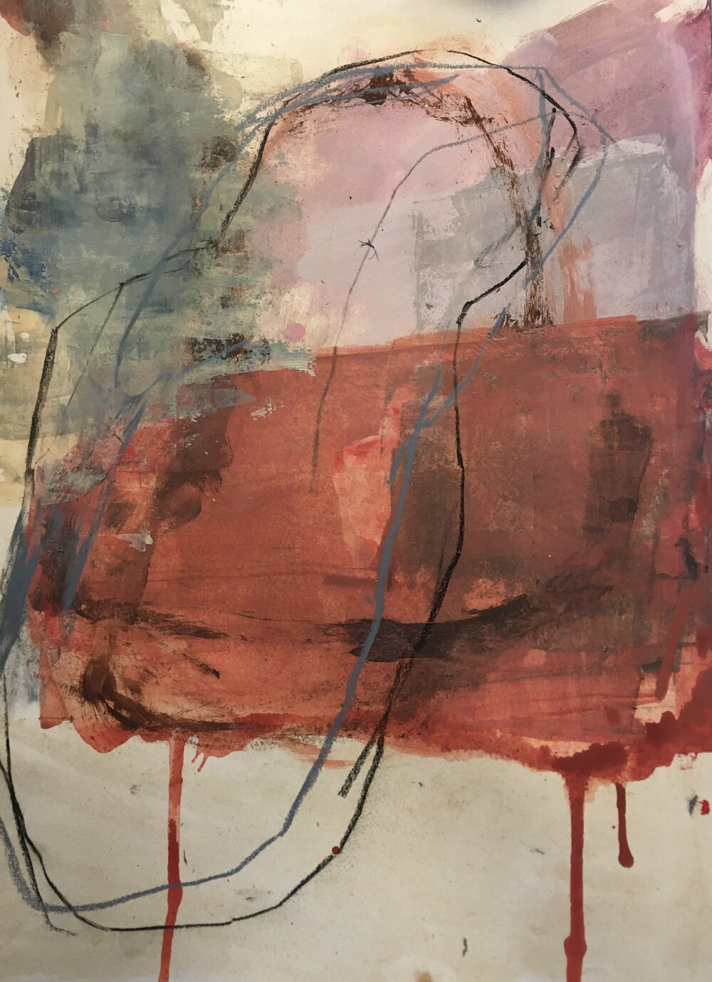 Abstract Paintings by Jane Cornwell 6
