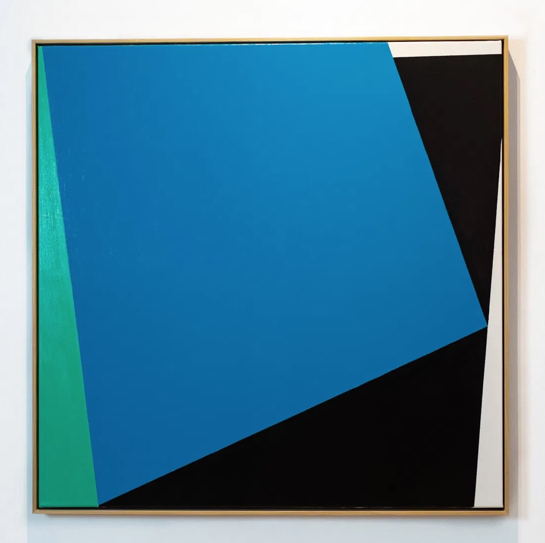 Minimalist Painting by Artist Carsten Beck 2