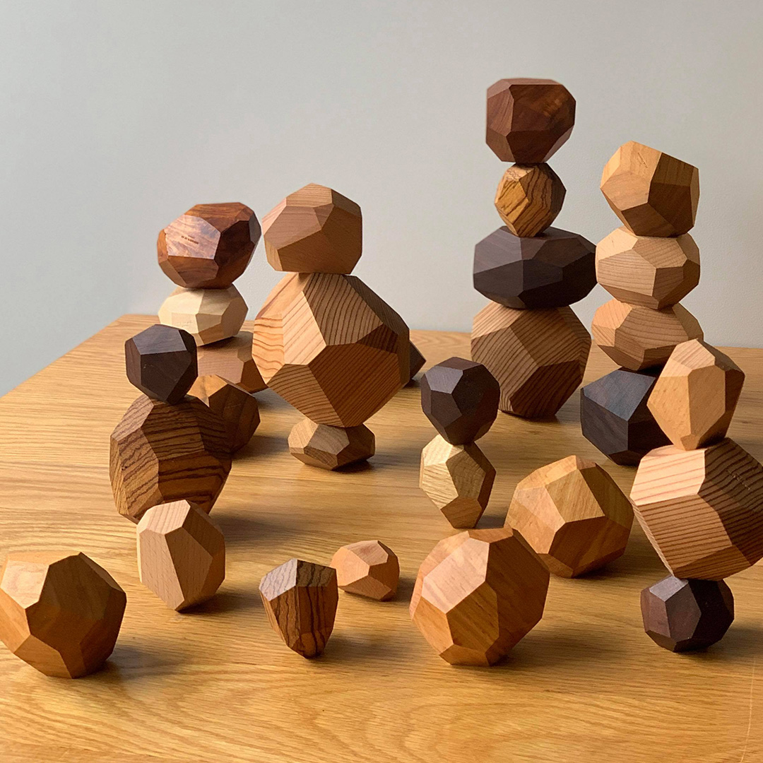 Tumi-isi Wooden Stacking Blocks by A4 15