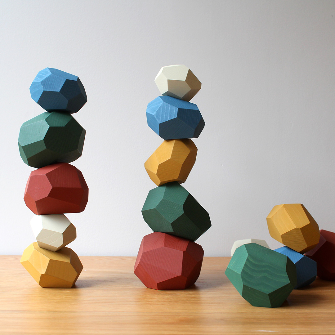 Tumi-isi Wooden Stacking Blocks by A4 13