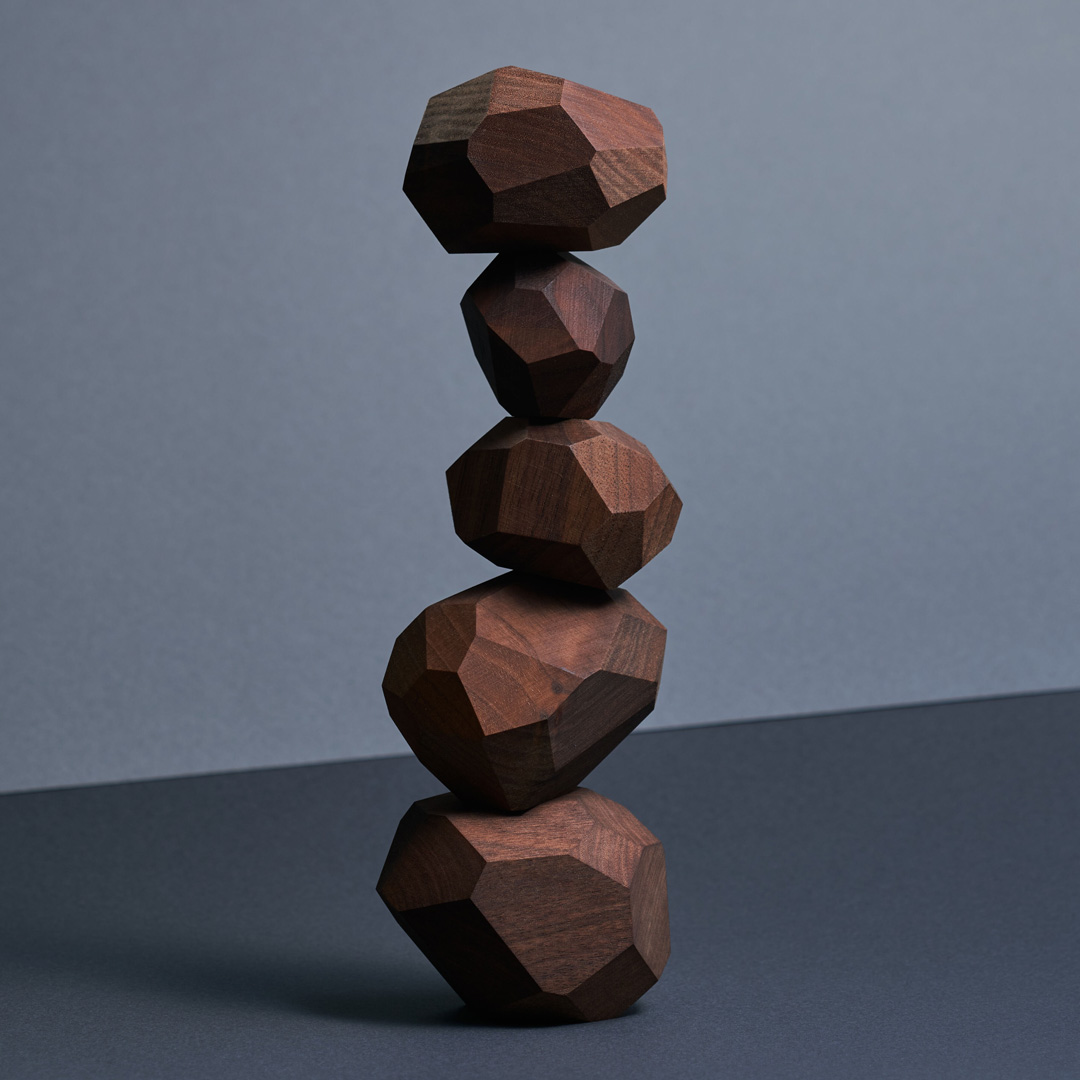 Tumi-isi Wooden Stacking Blocks by A4 20