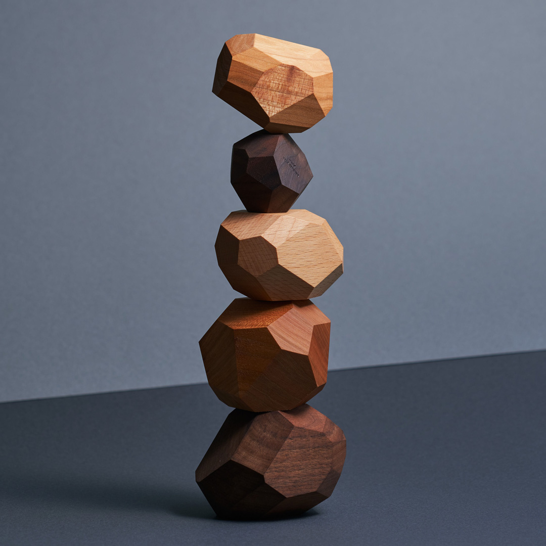 Tumi-isi Wooden Stacking Blocks by A4 19