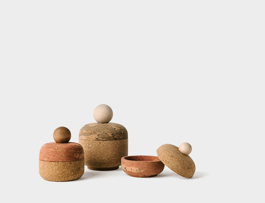 Cork and Wood Objects by Melanie Abrantes 1