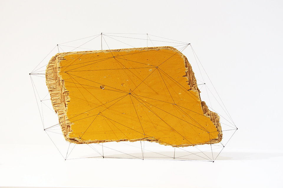 Suspended Wire Sculpture by Studio Note 2