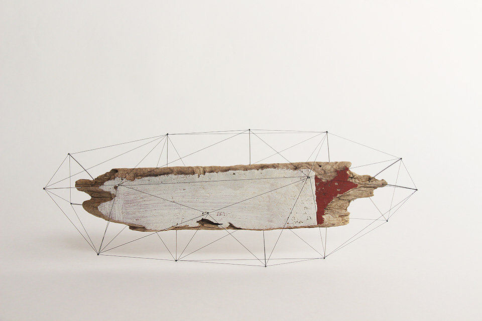 Suspended Wire Sculpture by Studio Note 4