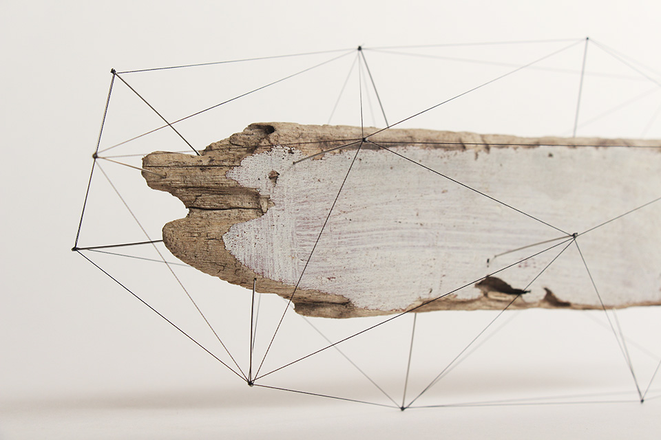 Suspended Wire Sculpture by Studio Note 9