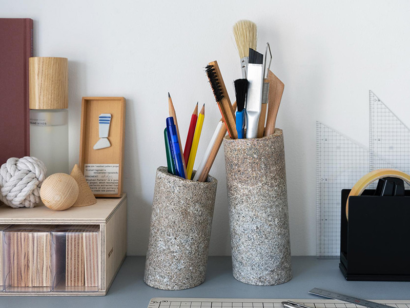 Stone Vases & Objects by AJI PROJECT 9